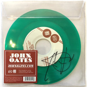 "John Oates Limited Edition Vinyl Single -""Santa Be Good To Me"" - Autographed"