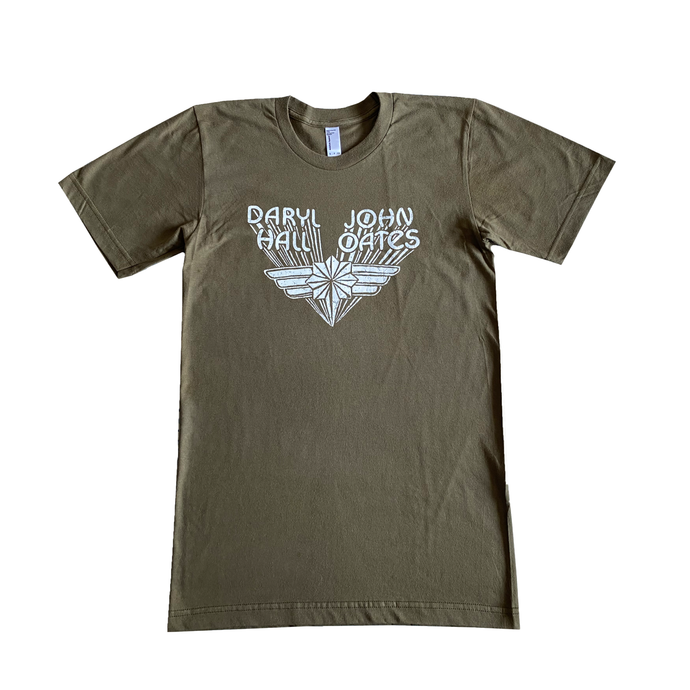 Wings Olive Green T Shirt