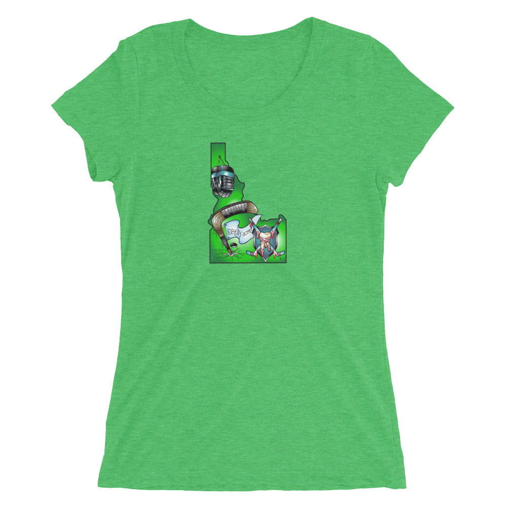 IdaPuck Women's Tee (green)