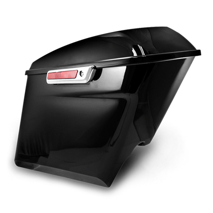 "ABS PLASTIC 5"" EXTENDED SADDLEBAG SET"