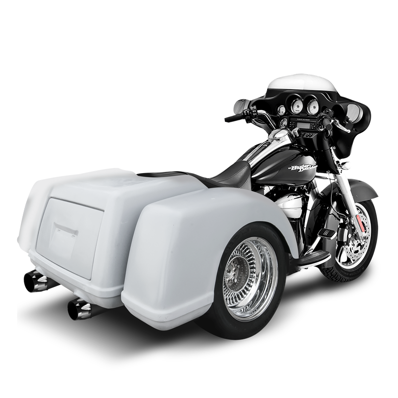 TRIKE BODY KIT WITH AXLE AND SWING ARM