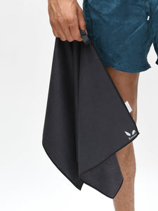 Gym & Travel Towel - Dark Grey