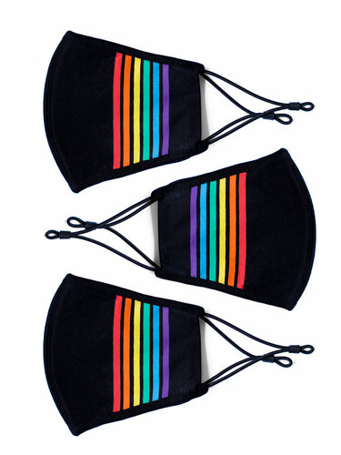 Berlin Rainbow Face Mask - 3 Pack