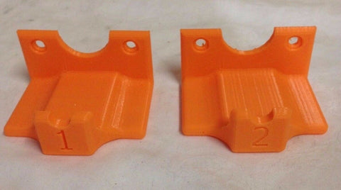 1-2 Controller Wall Mounts for PS4 DualShock - 12 Colors Available - Made in the USA