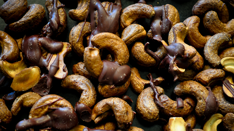Chocolate Coffee Cashews