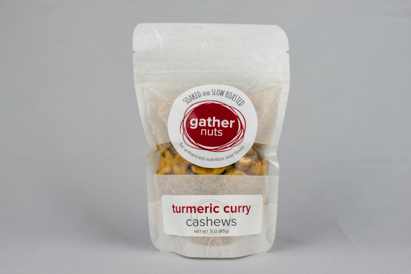 Turmeric Curry Cashews