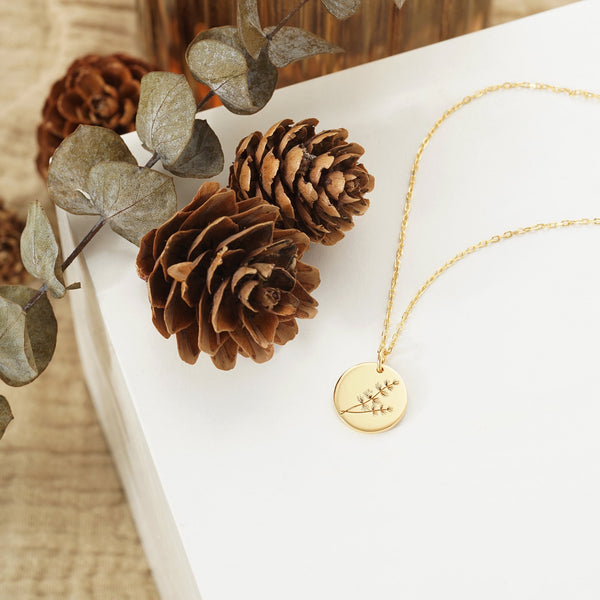 Larch Branch Necklace