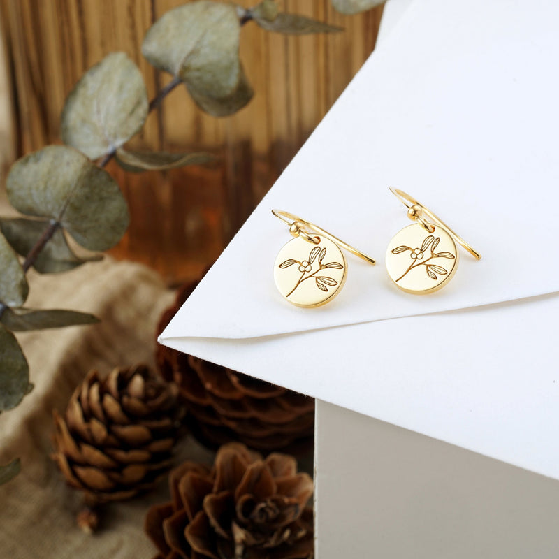 Mistletoe Flower Earrings