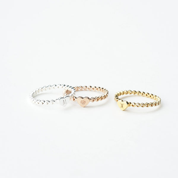 Infinity Heart Ring