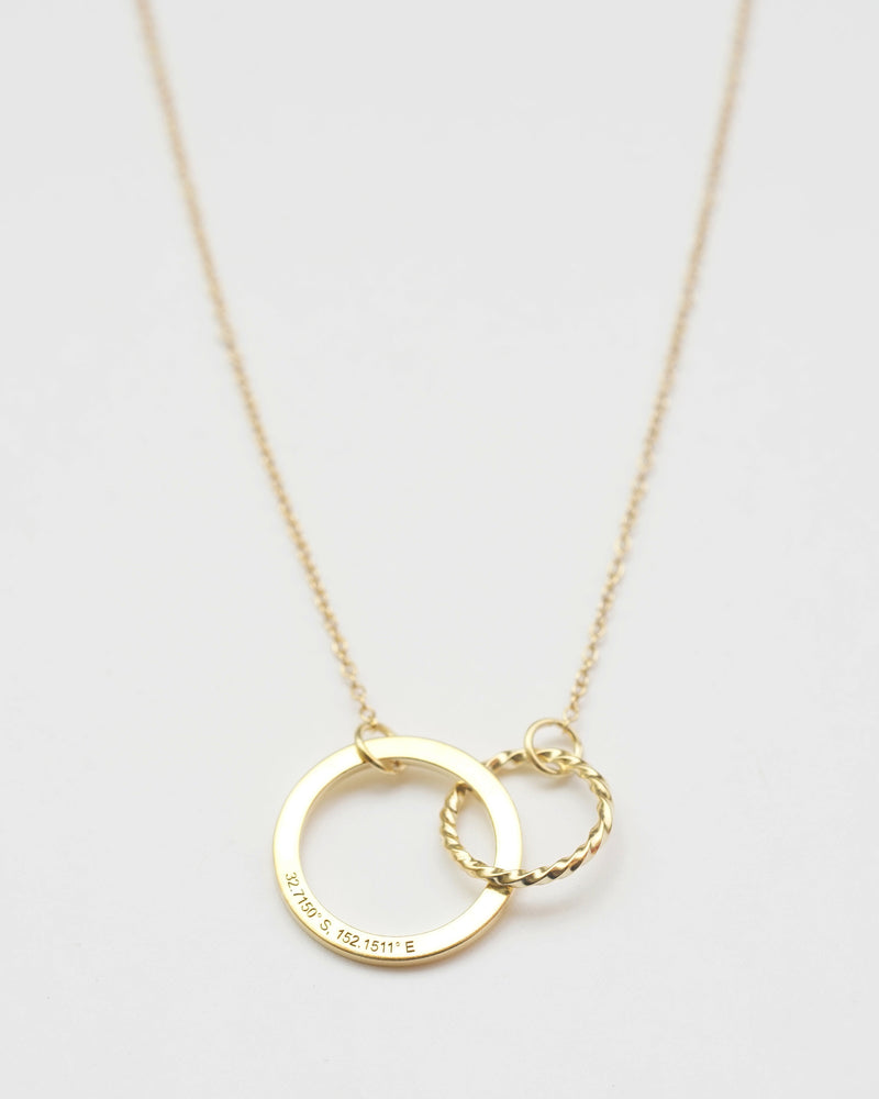 Personalized Infinity Necklace