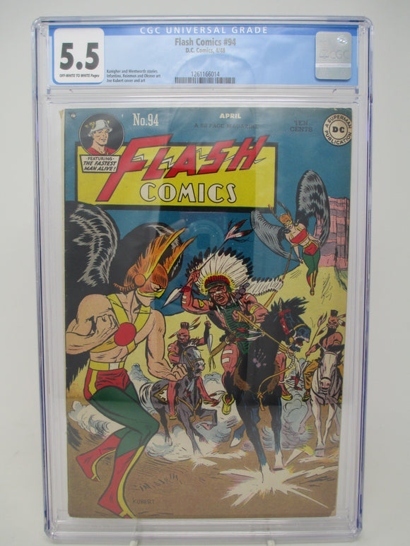 Flash Comics #94 ~ DC 1948 ~ CGC 5.5