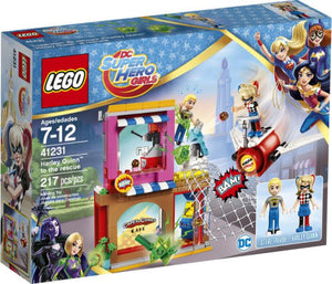 LEGO DCSHG HARLEY QUINN TO THE RESCUE 41231 SET