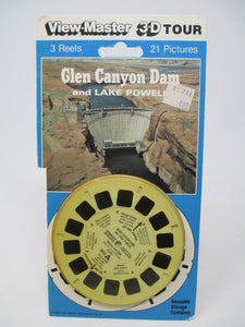 Glen Canyon Dam and Lake Powell View-Master Vintage