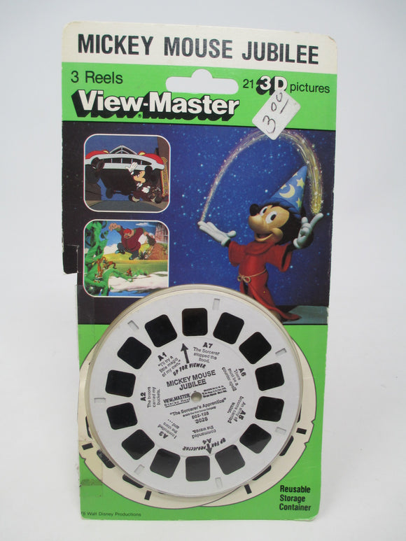 Walt Disney Mickey Mouse Jubilee View-Master