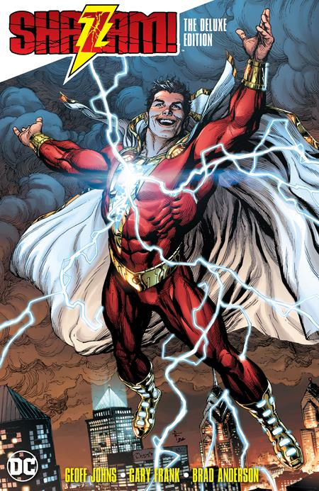 SHAZAM THE DELUXE EDITION HC - Books