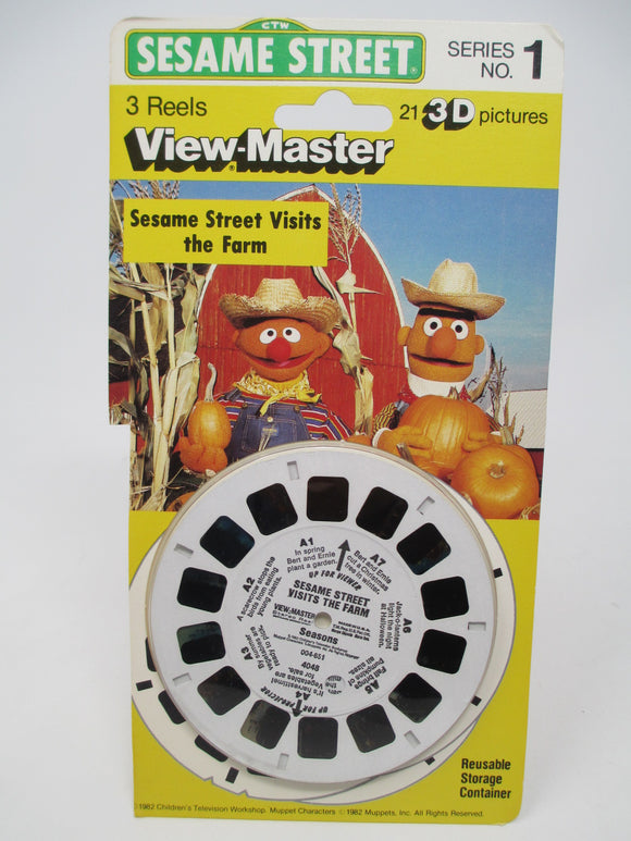 Sesame Street Visits the Farm No. 1 View-Master