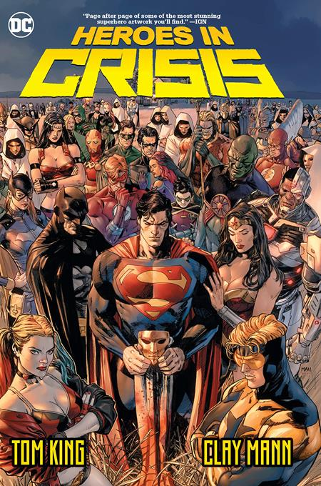 HEROES IN CRISIS TP - Books