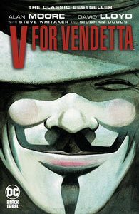 V FOR VENDETTA BLACK LABEL EDITION TP - Books