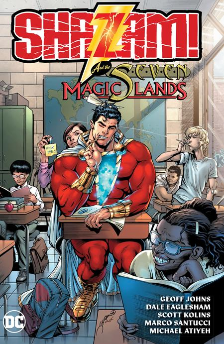 SHAZAM AND THE SEVEN MAGIC LANDS TP - Books