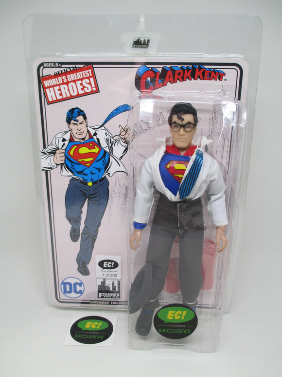 DC RETRO SUPERMAN / CLARK KENT 8IN AF - EC EXCLUSIVE