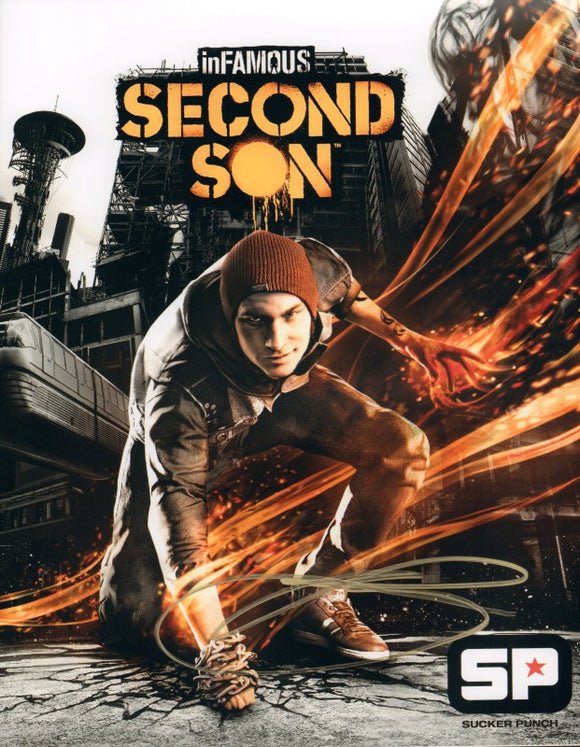 Autographed Photo from inFamous: Second Son: Troy Baker as Delsin Rowe-2