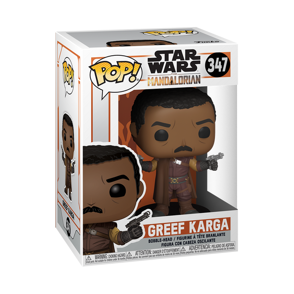 POP SW MANDALORIAN GREEF KARGA VINYL FIG