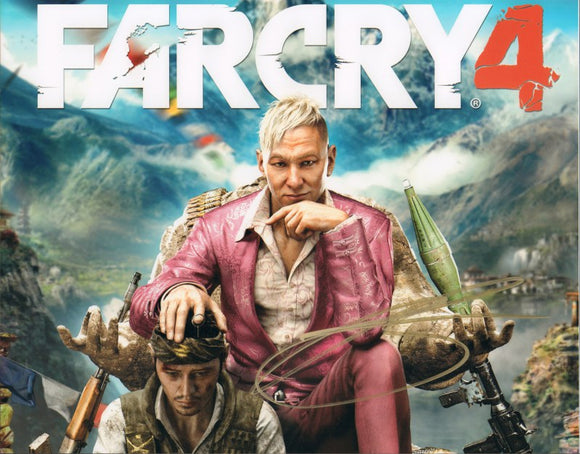 Autographed Photo from Far Cry 4: Troy Baker as Pagan Min
