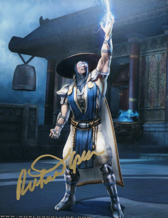 Autographed Photo from Mortal Kombat: Richard Epcar as Raiden