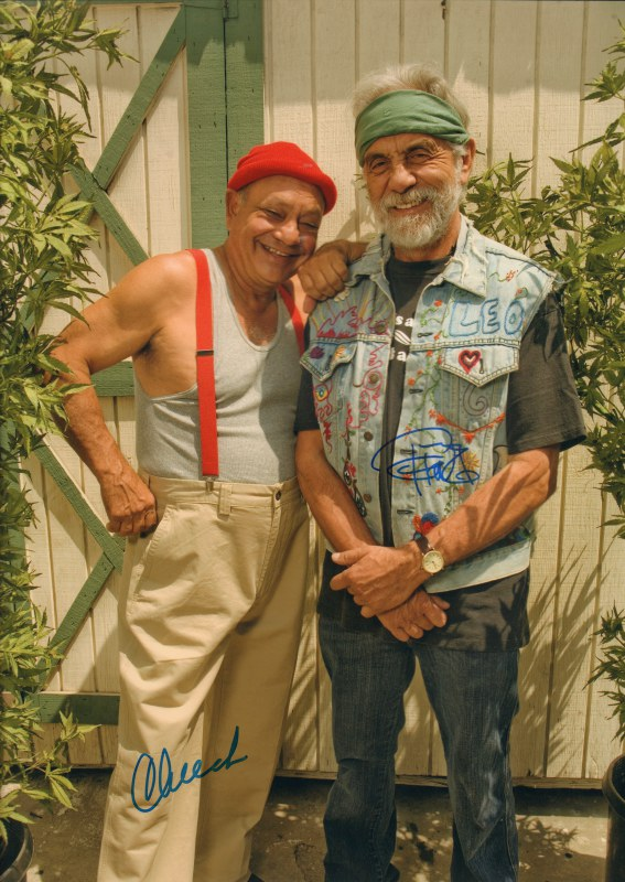 Autographed Photo of Richard 'Cheech' Marin and Tommy Chong as Cheech and Chong