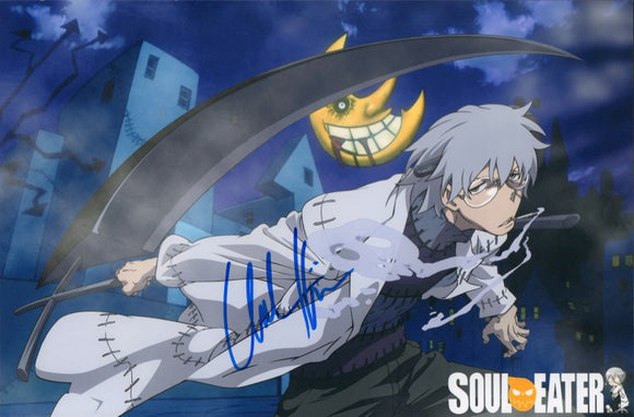 Autographed Photo from Soul Eater: Chuck Huber as Franken Stein (8x12)