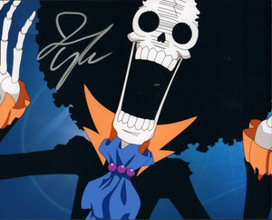 Autographed Photo from One Piece: Ian Sinclair as Brook-2