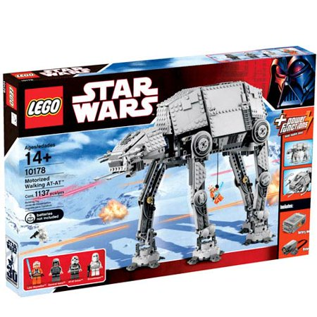 LEGO SW MOTORIZED WALKING AT-AT 10178