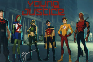 Autographed Photo from Young Justice: Greg Weisman