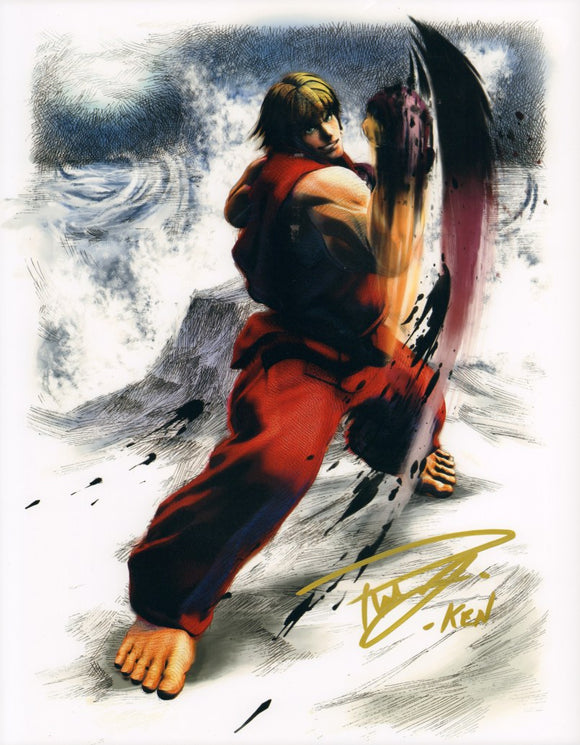 Autographed Photo from Street Fighter: Reuben Langdon as Ken (11x14)