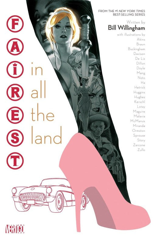Fairest In All the Land by Bill Willigham DC Vertigo