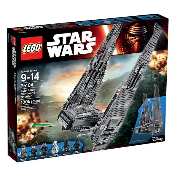 LEGO SW KYLO RENS COMMAND SHUTTLE 75104