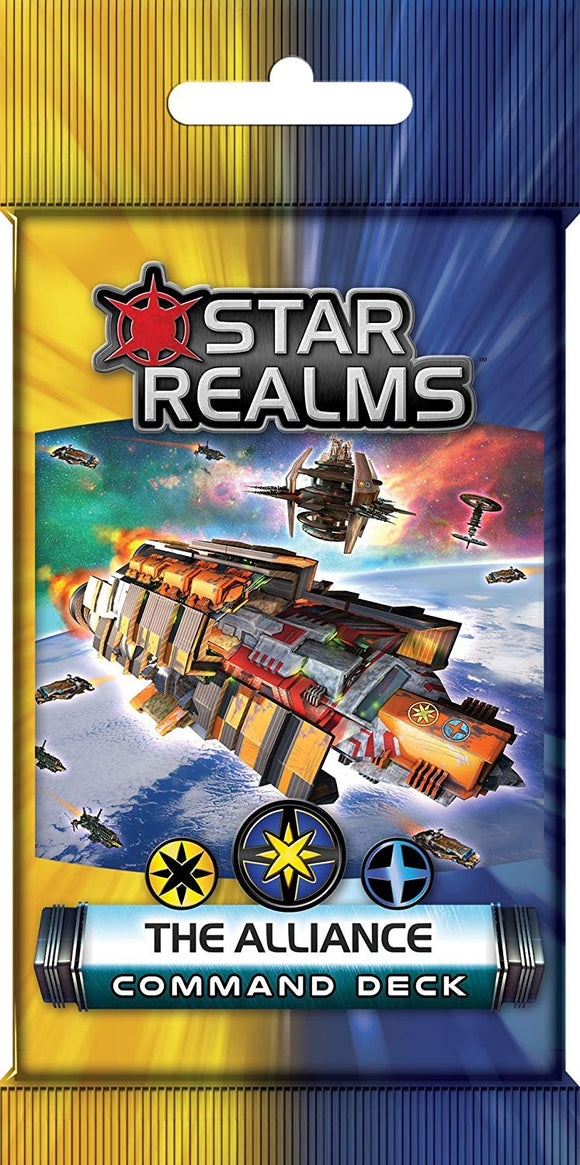 STAR REALMS: COMMAND DECKS - THE ALLIANCE
