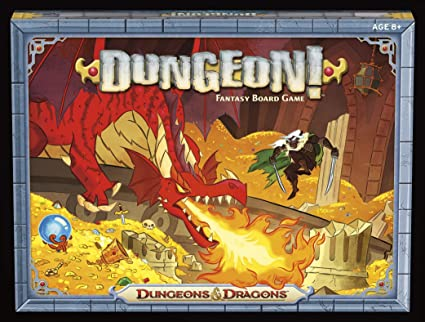 DUNGEONS AND DRAGONS DUNGEON! FANTASY BOARD GAME 2014