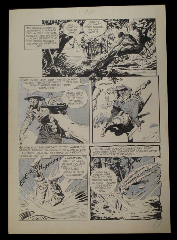 Al Williamson Page 4 of 'The Jungle' from Warren Eerie Magazine #5