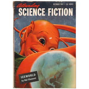 Astounding Science Fiction October 1951