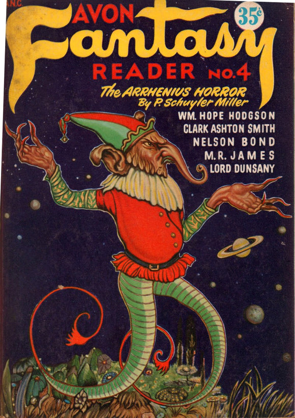Avon Fantasy Reader Number 4