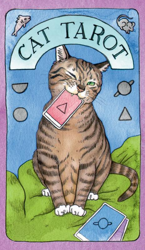 CAT TAROT CARDS & GUIDEBOOK