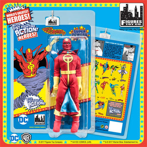 SUPER POWERS RETRO RED TORNADO 8IN AF S4