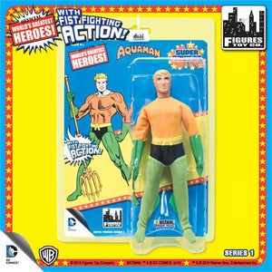 SUPER POWERS RETRO AQUAMAN 8IN AF S1
