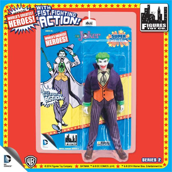 SUPER POWERS RETRO JOKER 8IN AF S2