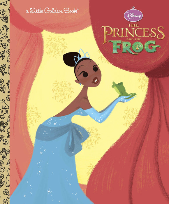 DISNEY PRINCESS AND THE FROG LITTLE GOLDEN BOOK