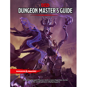 DUNGEONS AND DRAGONS 5E RPG: DUNGEON MASTERS GUIDE  CORE RULEBOOK
