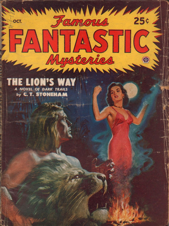 Famous Fantastic Mysteries Volume 10 Number 1