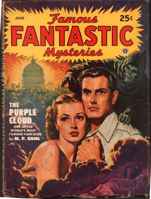 Famous Fantastic Mysteries Volume 10 Number 5