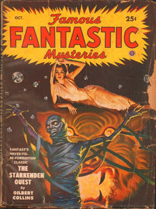 Famous Fantastic Mysteries Volume 11 Number 1